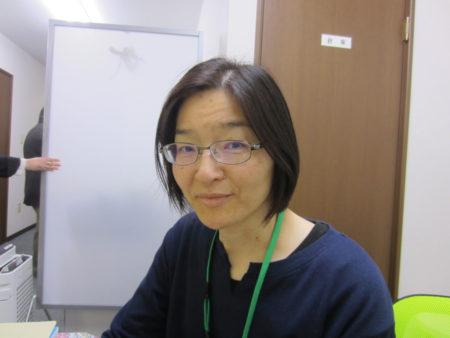 相談員の須藤奈津子さん(社会福祉士)