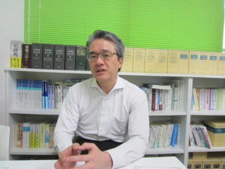 NPO法人 「つながる鹿児島」を立ち上げた 芝田 淳さん (司法書士)