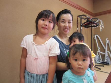 「森の玉里子ども食堂」副代表 園田愛美さん (小学校の先生で3姉妹のお母さん)