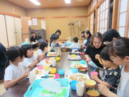 森の玉里子ども食堂(去年10月)