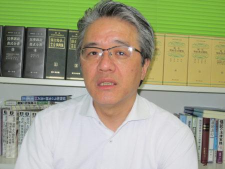 「NPO法人・つながる鹿児島」代表理事 芝田淳さん(司法書士)