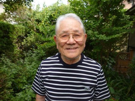 前迫範三さん(86)