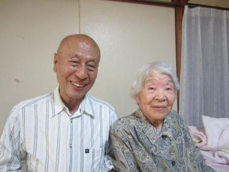 74歳となった長男の義博さんと… あんたは生きてなかったかもしれないんだよね