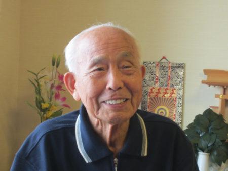 大坪敏夫さん(95)