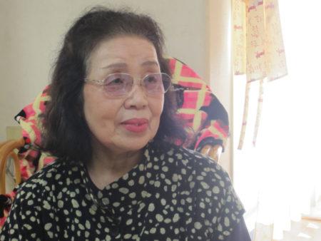 久保清子さん(79) 鹿児島市在住