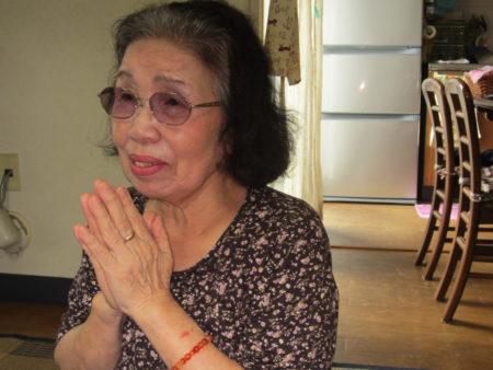 長崎で被爆し、体験の語り部活動を続ける久保清子さん(79)
