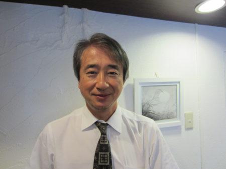 ゲストの調所一郎さん 「西郷隆盛という生き方」の編著