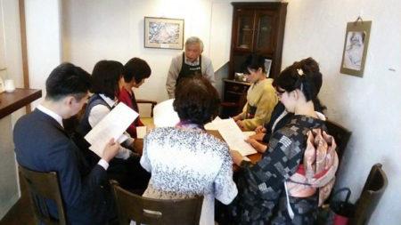 カフェは西郷さんのことを語り、学び合う集いの場でもあります!