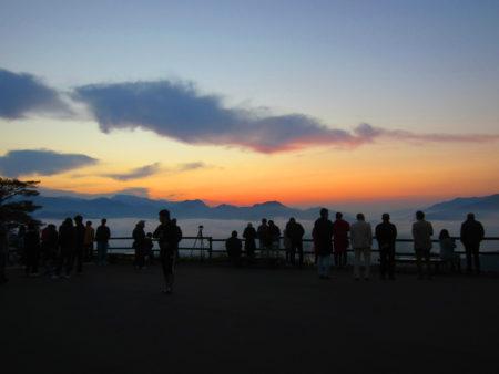 夜明け前の国見ケ丘(10月21日)