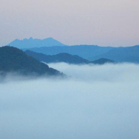 神々のふるさと・宮崎県高千穂町の秋の風物詩・雲海に出逢った!