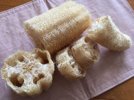 お風呂でかかとなどを擦るタワシとして、また、鍋や流し台を洗うタワシなどとして活用します。