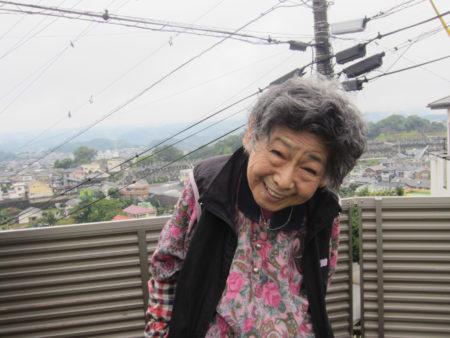 鹿児島市の不二子おばあちゃん(87)