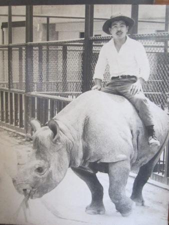 平川動物公園時代の梶原さん