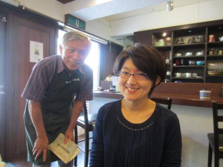 山城さんの珈琲店「二官橋珈琲院」で…