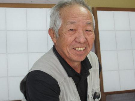 表具職人、末吉秋雄さん(70)