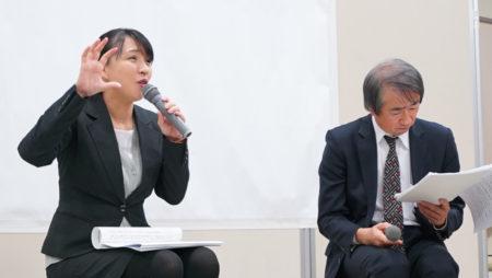 当時の薩摩のことを解説して下さる小平田史穂さん (尚古集成館・学芸員)