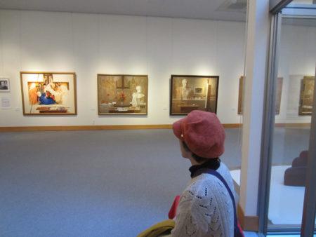 児玉美術館は、海老原喜之助、大嵩禮造、山下三千夫ら鹿児島ゆかりの作家の絵画を中心