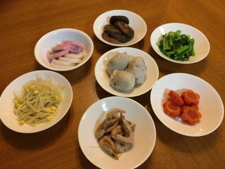 鹿児島のお雑煮に入れる材料