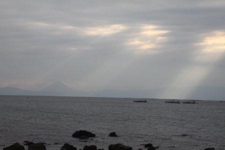 垂水市海潟。都から流されてきたお公家様が、湘南の江の島