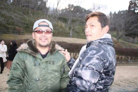 時田恵一さん(左)と末永清実さん