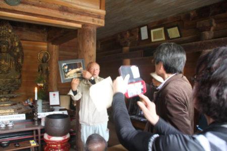 1229年の鎌倉時代に作られた仏像であること、仏師運慶の流れをくむ仏師が造ったと考えられていること…。