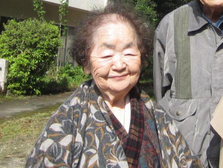 長濱利子さん(83)
