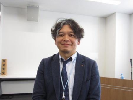 コミューンの開発者でNPO法人日本ユニバーサル・サウンドデザイン協会 理事長中石真一路さん