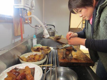 料理上手のお仲間が、お手伝い…