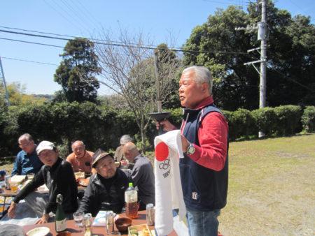 「私はこのトーチをもって、このランニングシャツを着て、東京オリンピックの聖火ランナーを務めました!」