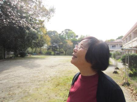 いしき園の職員だった西郷ヨシ子さん