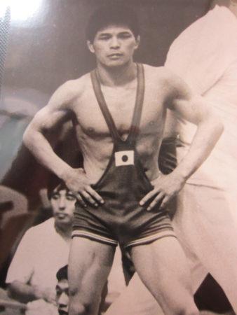 ミュンヘンオリンピックでの平山さん