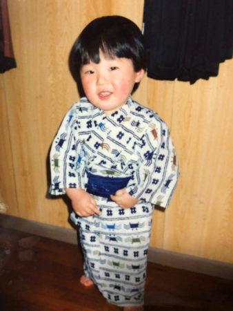 日本舞踊を始めた頃の二仁祇さん