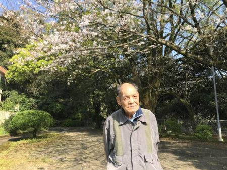 前園春三さん(80)