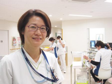鹿児島厚生連病院 看護部師長(緩和ケアチーム)西田伊豆美さん