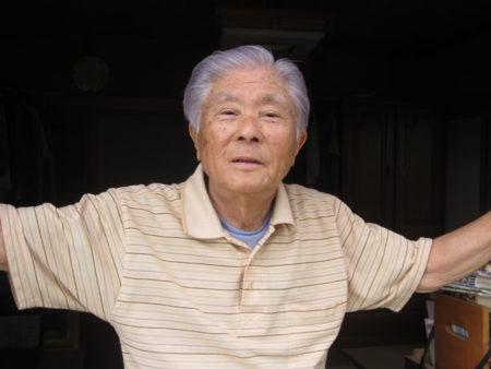 村山徳男さん(87) 鹿児島市在住