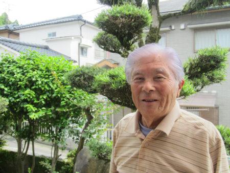 鹿児島大空襲を体験した村山徳男さん(87)