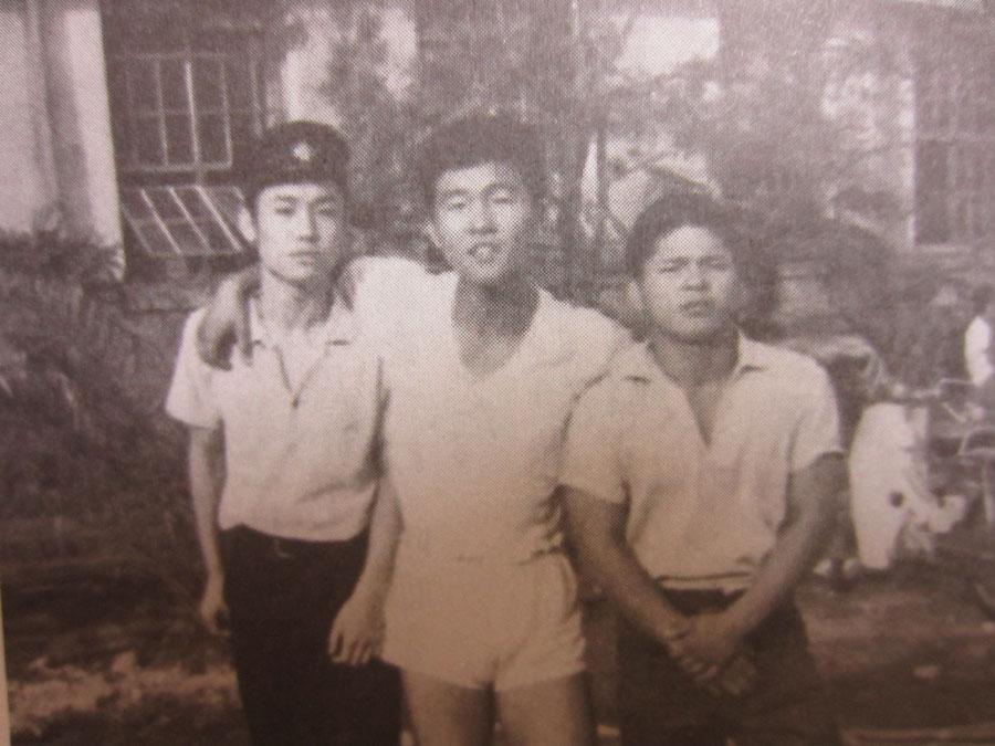 高校時代の3人(左から入江さん、伊集院さん、平山さん)