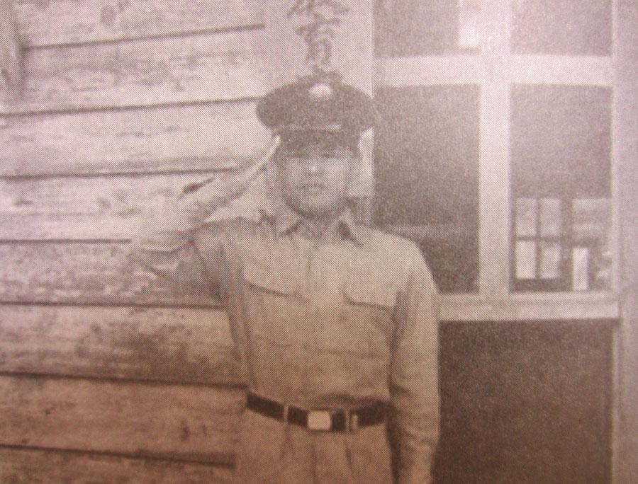 自衛隊に入隊した平山さん