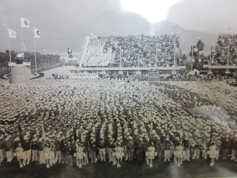 オリンピックの一か月後に鹿児島で開催された太陽国体(1972年)
