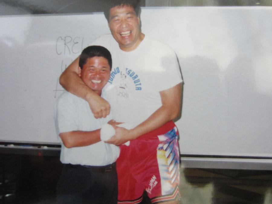 ジャンボ鶴田選手は一緒にミュンヘンに行った同志