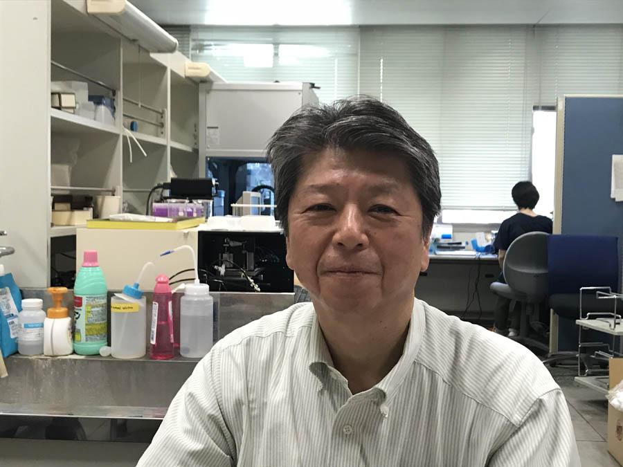 (株)スディックスバイオテック 代表取締役 隅田泰生さん (鹿児島大学教授・工学博士)