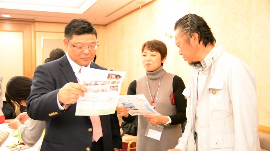 最終審査会の後、審査員やファイナリスト、観客の方、自由に参加しての交流会も開かれました。