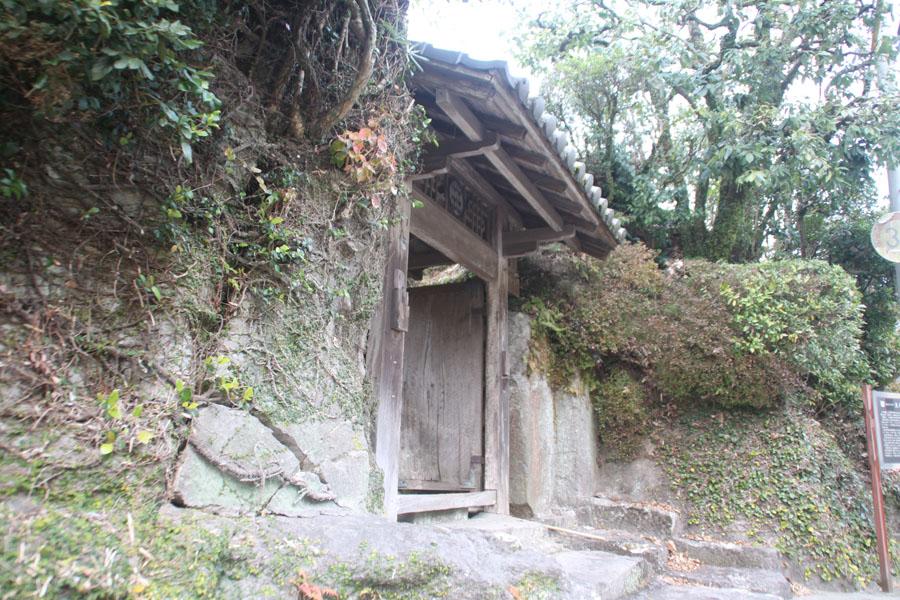 天水氏庭園の門