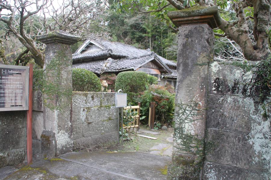 平山氏庭園の門