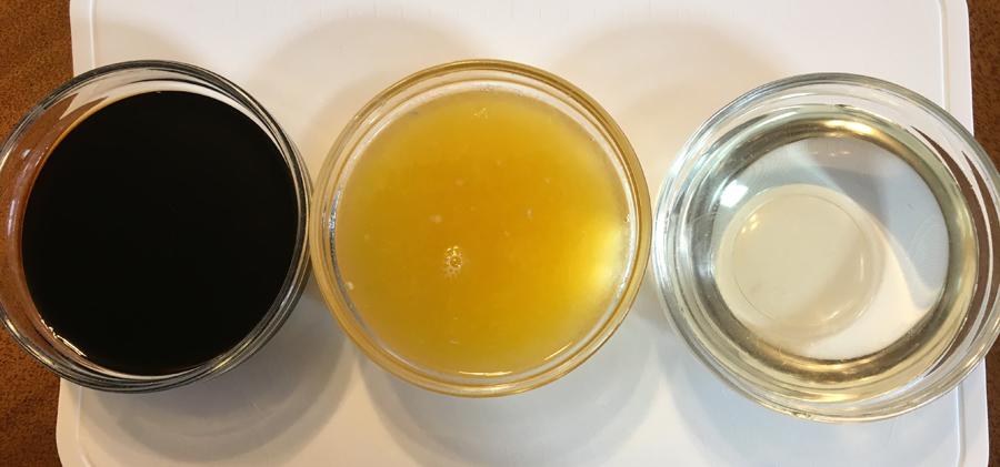 お好みで、果汁や醤油の量を調整したり、お酢を加えても良いと思います。