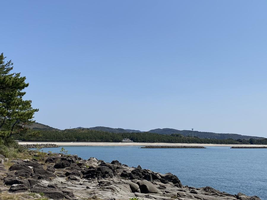 今年は中止になってしまった浜競馬が開かれる照島海岸