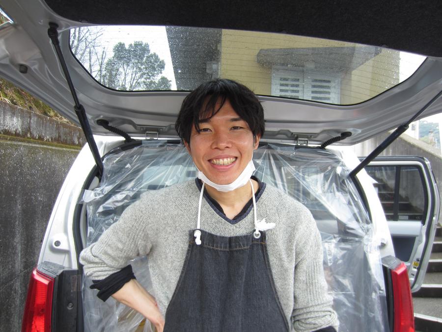 食材の提供を提案した運営委員の永田嘉人さん