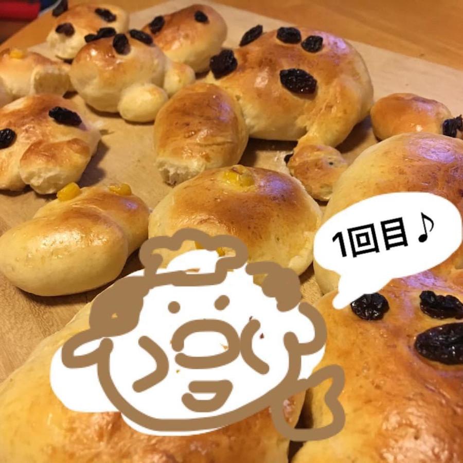 sakiさんの子どもたちも、いろんなかたちのパンをつくるのが大好きになりました。