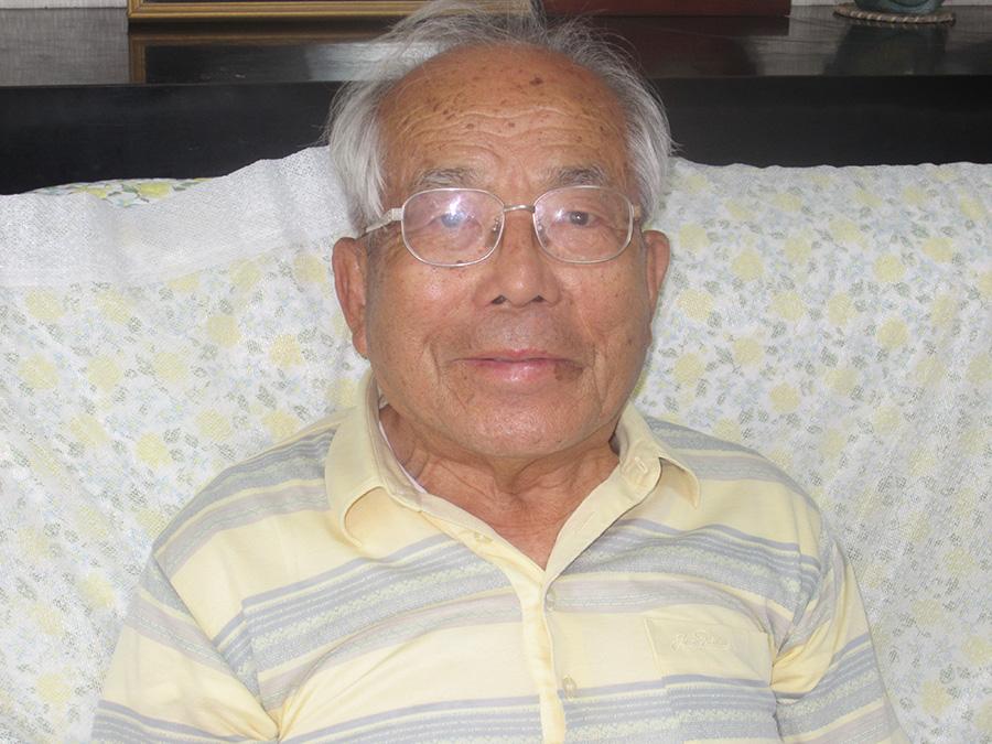 鹿児島市の小松勝さん(88)