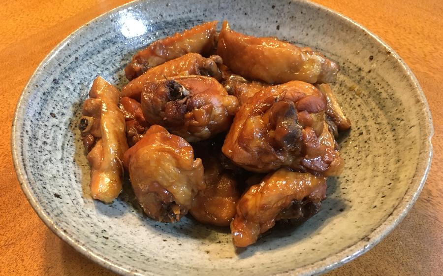 鶏の煮つけが一番のごちそうだった。